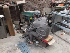 钢木制休闲椅生产设备