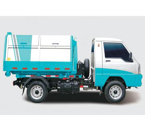 垃圾钩臂车1-5吨(车厢容积3立方)