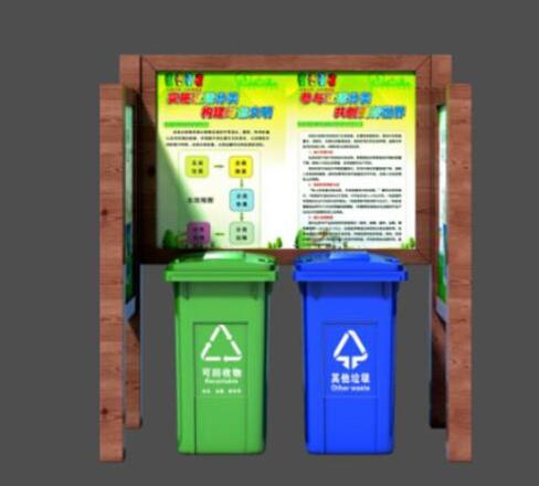 垃圾分类宣传栏XA-15