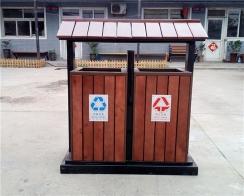 木质垃圾桶