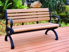 眉山木质休闲椅