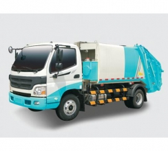 四川后压缩式垃圾车(3-15吨)