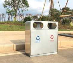 重庆市政街道垃圾桶