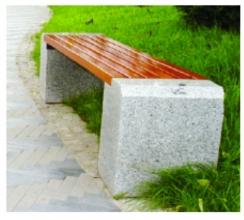 眉山景区休闲椅