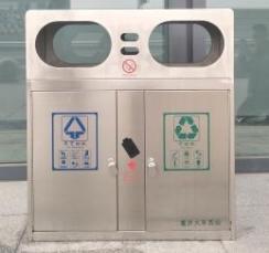 重庆西站垃圾桶
