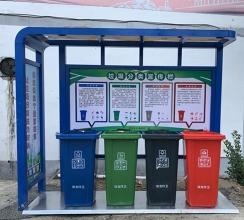 四川垃圾分类宣传栏XA-1