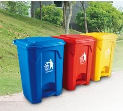 脚踏塑料垃圾桶XA-6